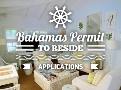 MARIO L. McCARTNEY PRESENTS: PERMIT TO RESIDE IN THE BAHAMAS