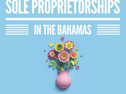 MARIO L. McCARTNEY PRESENTS: THE SOLE PROPRIETORSHIP IN THE BAHAMAS