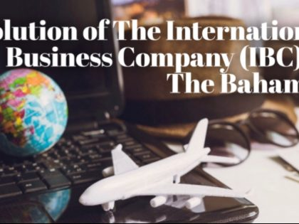 MARIO L. McCARTNEY PRESENTS: EVOLUTION OF INTERNATIONAL BUSINESS  COMPANIES IN THE BAHAMAS