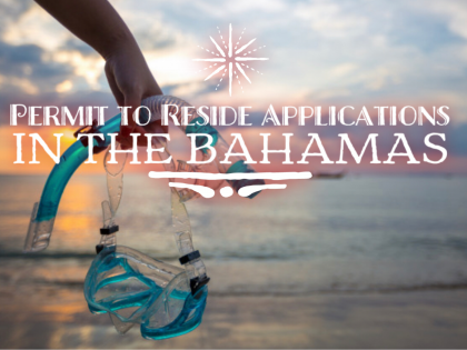Mario L. McCartney Presents: Permit to Reside Applications in The Bahamas